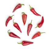 Organic Red Fresno Peppers