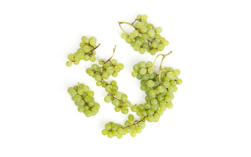 Buzzard Crest Organic Green Himrods Grapes