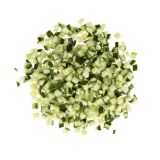 "1/2"" Diced Hot House Cucumbers with Skin"