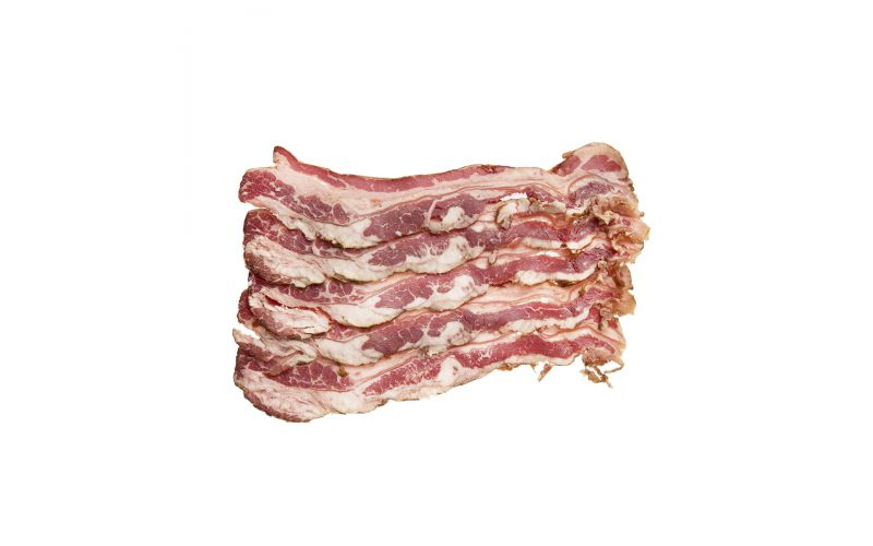 Frozen Grass Fed Sliced Beef Bacon