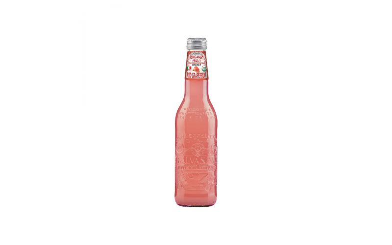 Organic Red Grapefruit Sparkling Soda
